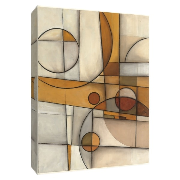"PTM Images 9-154977 PTM Canvas Collection 10"" x 8"" - ""Flipped Mythology"" Giclee Abstract Art Print on Canvas"