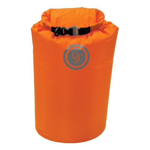 UST 20-12137 Safe & Dry Bag with Top closure, Orange, 15-Liters