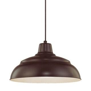 Millennium Lighting RWHC14 R Series 1 Light Warehouse Pendant - 14 Inches Wide