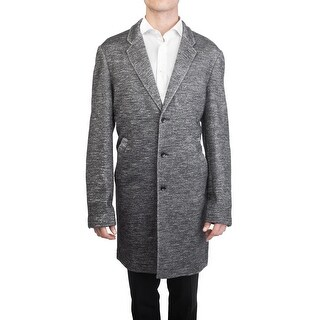 Good Man Brand Men's Wool Top Coat Jacket Grey
