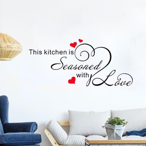 991a37059e Home Decor Removable DIY Vinyl Wall Art Sticker Family Decal 23.6