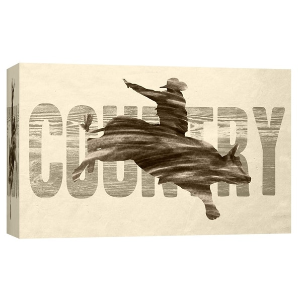 """PTM Images 9-103710 PTM Canvas Collection 8"""" x 10"""" - """"Country"""" Giclee American Art Print on Canvas"""