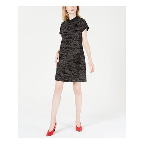 MAISON JULES Black Sleeveless Above The Knee Dress M
