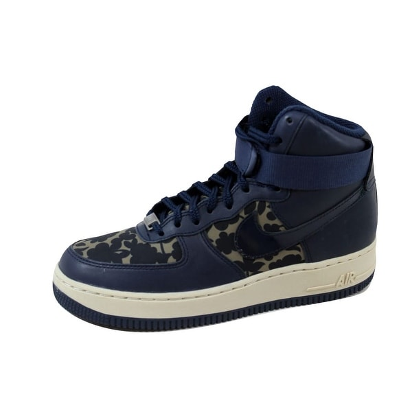 Nike Women's Air Force 1 Hi Liberty QS Cargo Khaki/Obsidian 706653-300 Size 7.5