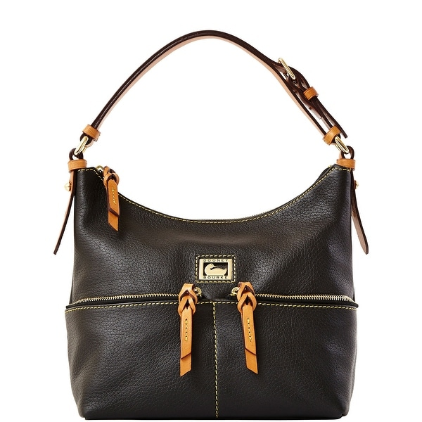 Dooney & Bourke Dillen Small Zipper Pocket Sac (Introduced by Dooney & Bourke at $238 in Aug 2012) - Black