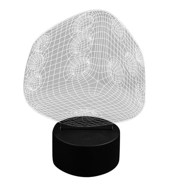 Change Desk 5v Acrylic Shape 3d Led Dc Color Shop Night 7 Dice Light 3qc54RAjL