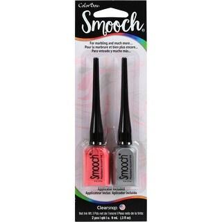 Colorbox Marbleizing With Smooch 2/Pkg-Taffy/Silver Fox