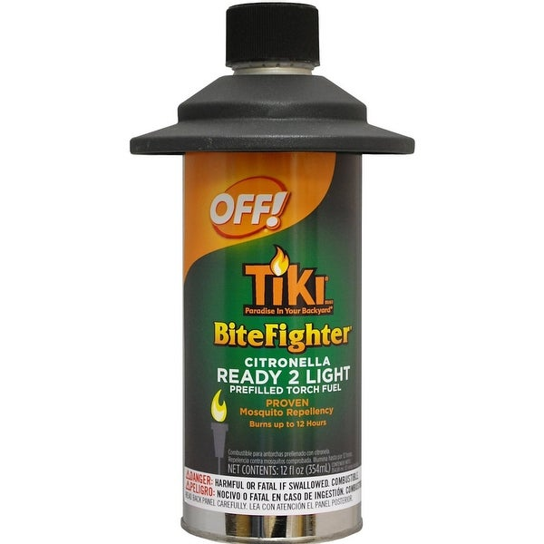 TIKI 1215093 Bitefighter Cedar & Citronella Torch Fuel, 12 Oz