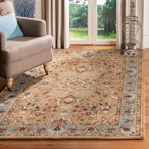 SAFAVIEH Handmade Classic Cliffie Traditional Oriental Wool Rug