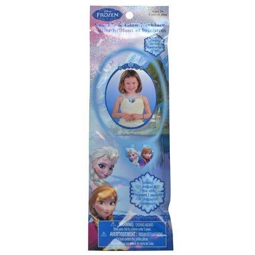 Disney Frozen Elsa and Anna Glow Pendant Necklace