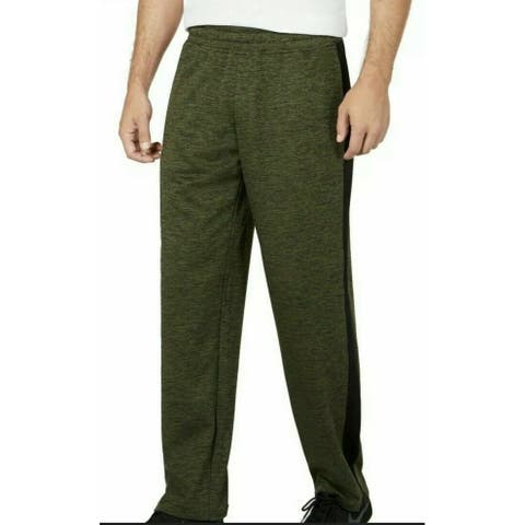 Ideology Men's Track Pants Green Size Extra Large