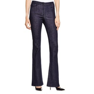 3x1 Womens Bell Bottom Jeans Flare Mid-Rise