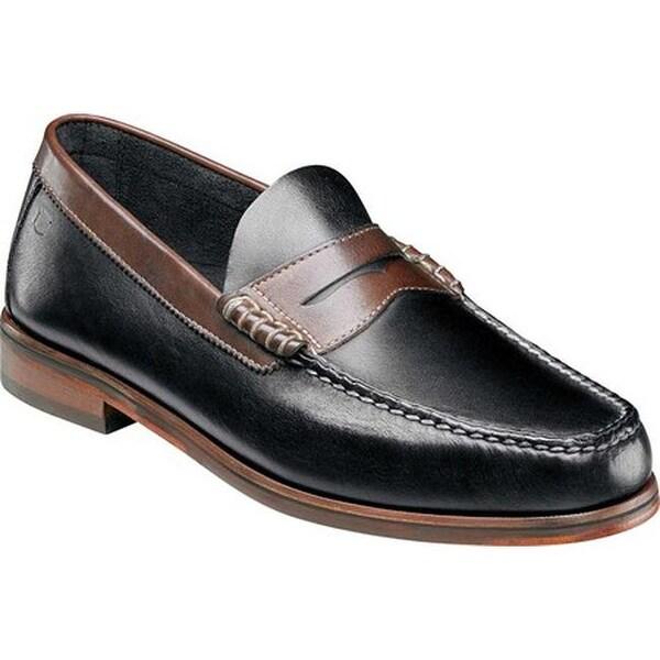 de29f3083a4 Florsheim Men  x27 s Heads Up Penny Loafer Black Brown Smooth Leather