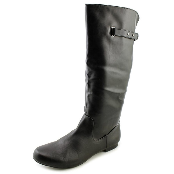 Style & Co Mabbel Women  Round Toe Synthetic Black Knee High Boot