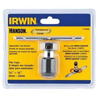 Irwin 1766069 0.25 - 0.5 in. Self Aligning Tap Wrench