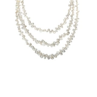 5mm White Freshwater Pearl Endless Necklace