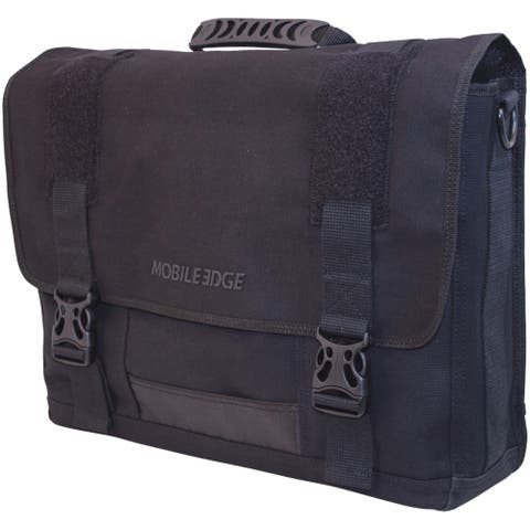 "Mobile Edge 17.3"" Eco Messenger Bag (black)"