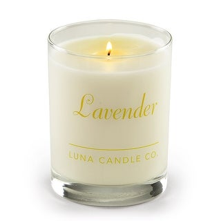 Luna Candle Co., Lavender - Scented Luxurious Candles - 11 Oz - 80 Hrs Burn Time