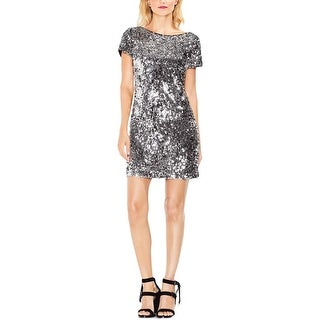 Vince Camuto Womens Party Dress Short Sleeve Mini