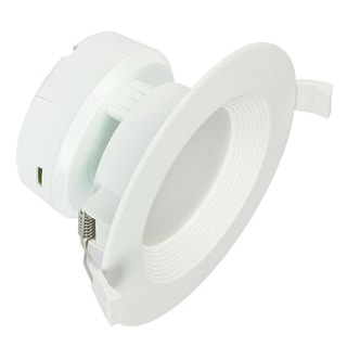 """Link to Westinghouse 5087000 4"""" LED IC Rated Baffle Recessed Trim Integrated - White Similar Items in Recessed Lights"""