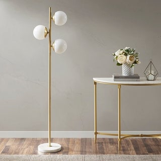 Link to Holloway 62-inch Floor Lamp with Round Shade by INK+IVY Similar Items in Floor Lamps