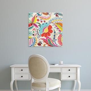 Easy Art Prints Wild Apple Portfolio's 'Boho Paisley II' Premium Canvas Art