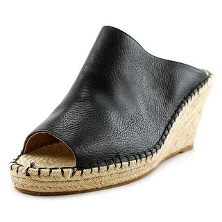 BCBGeneration Macey-X Women Open Toe Leather Wedge Heel