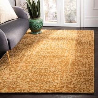 Link to Safavieh Handmade Antiquity Birtie Traditional Oriental Wool Rug Similar Items in Pendant Lights