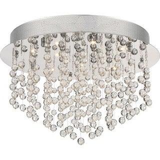 """Platinum PCHE1616 Highrise 12 Light 15.75"""" Wide Flush Mount Ceiling Fixture"""