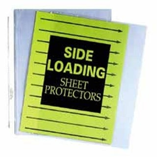 C-Line Products- Inc. Side-Loading Sheet Protectors- 8-.50in.x11in.