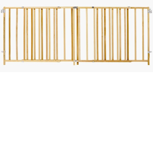 Shop North States Extra Wide Swing Pet Gate Wood 60 Quot 103