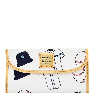 Dooney & Bourke MLB Mariners Continental Clutch (Introduced by Dooney & Bourke at $128 in Feb 2014)