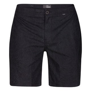 Hurley NEW Black Blue Mens Size 30 Tribal Geometric Print Shorts
