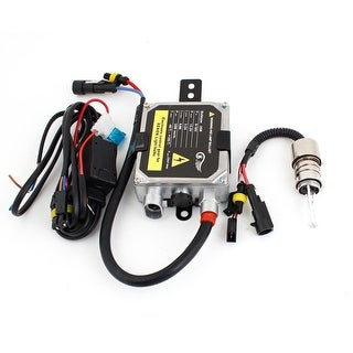 Unique Bargains Motor Bike DC 12V 35W 6000K H6 HID Xenon Lamp w Ballast Kit