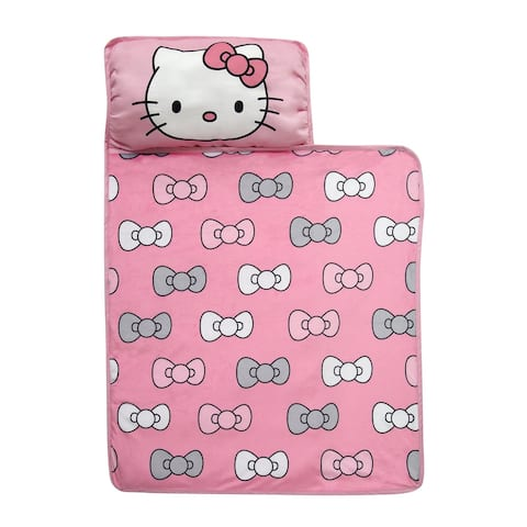 Lambs & Ivy Hello Kitty Pink/Gray/White Toddler Nap Mat