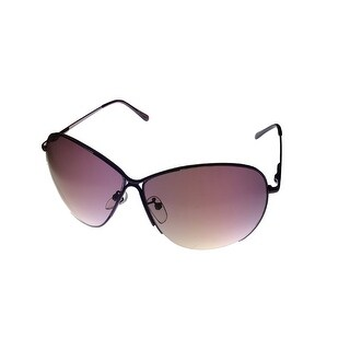 Esprit Womens Sunglass 19380 577 Purple Metal Fashion Square, Gradient Lens - Medium