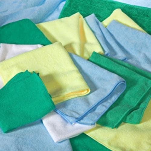 "All Rags MFMP12YLW Microfiber Cloth 12"" x 12"", Yellow"