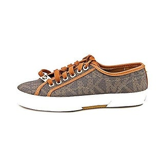 MICHAEL Michael Kors Women's Boerum Leather Lace-Up Sneaker