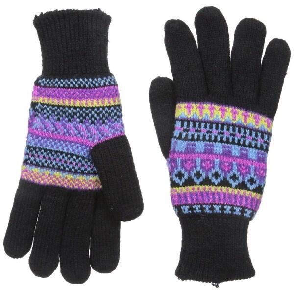 Manzella Women's Fairisle Gloves - Free Shipping On Orders Over ...