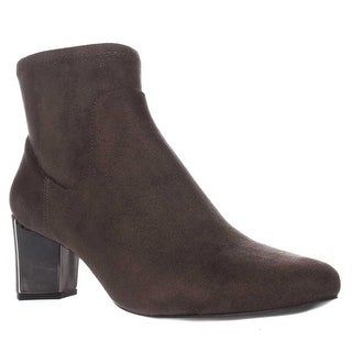 Nine West Falup Ankle Booties - Dark Grey