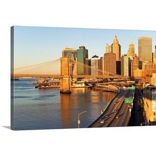 """USA, New York City, Cityscape"" Canvas Wall Art"