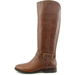 Marc Fisher Women's Aysha Leather Knee High Riding Boot