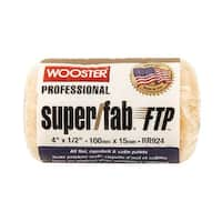 """Wooster RR924-4 Super Fab FTP Roller Cover, 4"""" x 1/2"""""""