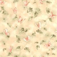 Brewster 347-45108 Stowe Beige Butterfly Trail Wallpaper - N/A