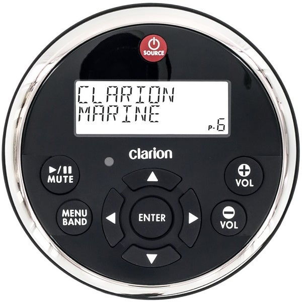 Clarion MW1 Watertight Wired Remote w/2 Line LCD