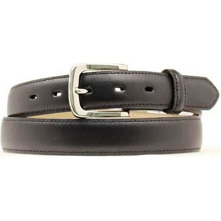 Nocona Western Belt Mens Smooth Classic Leather Black