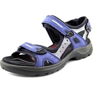 Ecco OffRoad Yucatan Round Toe Leather Sport Sandal