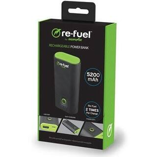 Re-Fuel Weekender 5200 Power Bank Battery Charger - 5200Mah 1A Usb Port External Battery Power Bank|https://ak1.ostkcdn.com/images/products/is/images/direct/8d3ab05d38beba3ab579a915d8f1f6dd186c7a2b/Re-Fuel-Weekender-5200-Power-Bank-Battery-Charger---5200Mah-1A-Usb-Port-External-Battery-Power-Bank-%7C-Portable-Phone-Cha.jpg?impolicy=medium