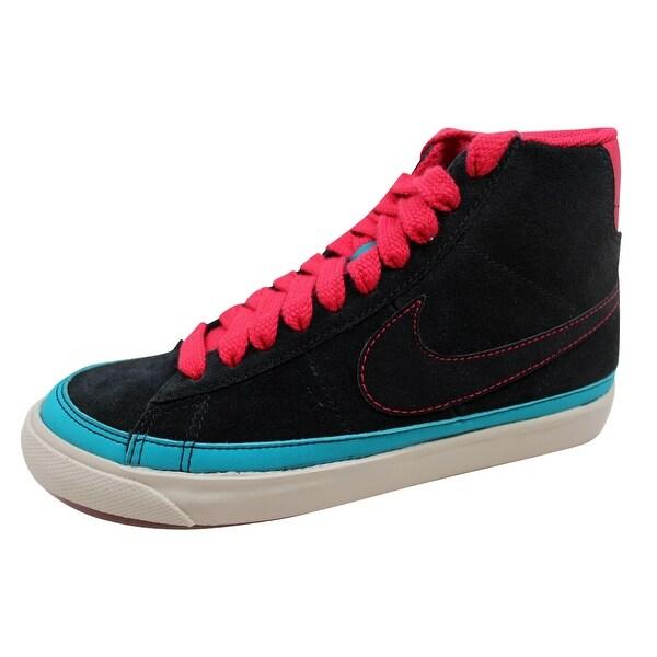 Nike Women's Basketball Shoes Blazer Mid '09 ND Black / Black-Very Berry-Birch