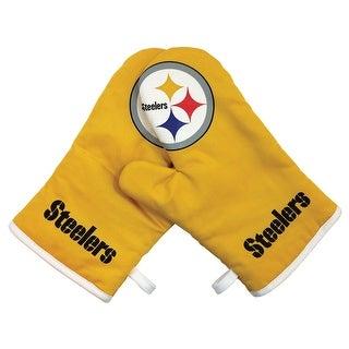 Pittsburgh Steelers NFL Oven Cross Mitt Gloves
